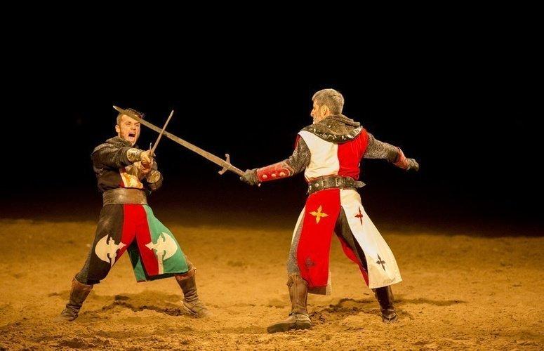 Dîner-spectacle 'Desafío Medieval' Dîner-spectacle Défi Médiévale Alfas del Pi