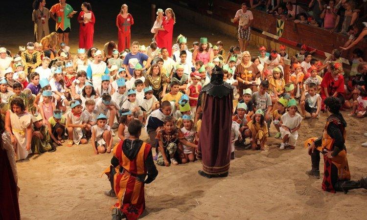 Comuniones Dîner-spectacle Défi Médiévale Alfas del Pi